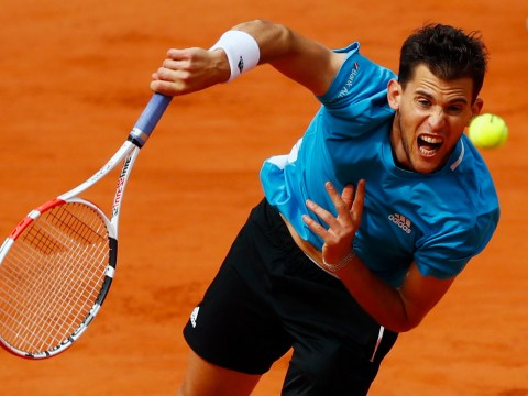 Dominic Thiem reacts to famous win over Novak Djokovic to reach French Open final
