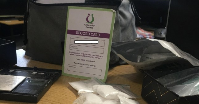 Man leaves bag full of drugs on tram along with his name and address