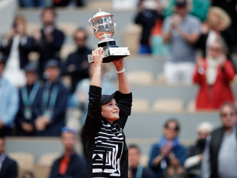 Dominant Ash Barty storms to first Grand Slam title at the French Open