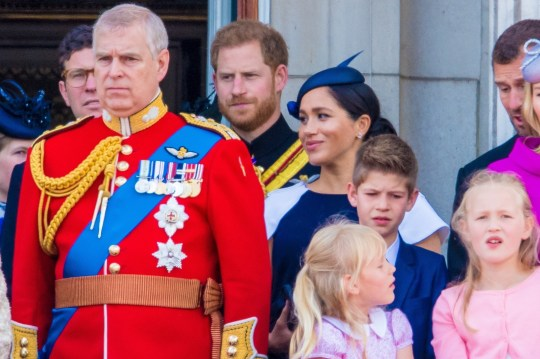 ** RIGHTS: WORLDWIDE EXCEPT IN NETHERLANDS ** London, UNITED KINGDOM - Meghan, Duchess of Sussex, making her first appearance at a public engagement Saturday since the birth of her son, Archie Harrison Mountbatten-Windsor, at the traditional Trooping the Colour, a celebration of the Queen's official birthday. Pictured: Meghan, Duchess of Sussex BACKGRID USA 8 JUNE 2019 USA: +1 310 798 9111 / usasales@backgrid.com UK: +44 208 344 2007 / uksales@backgrid.com *UK Clients - Pictures Containing Children Please Pixelate Face Prior To Publication*
