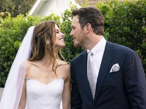 Chris Pratt feels 'blessed to begin new chapter' as he confirms marriage to Katherine Schwarzenegger in Californian wedding