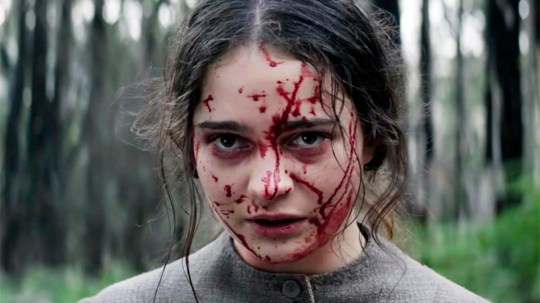 Aisling Franciosi as Claire in The Nightingale