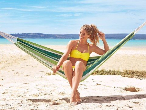 Lidl is selling a hammock for £6.99 so you can pretend you're on holiday year-round