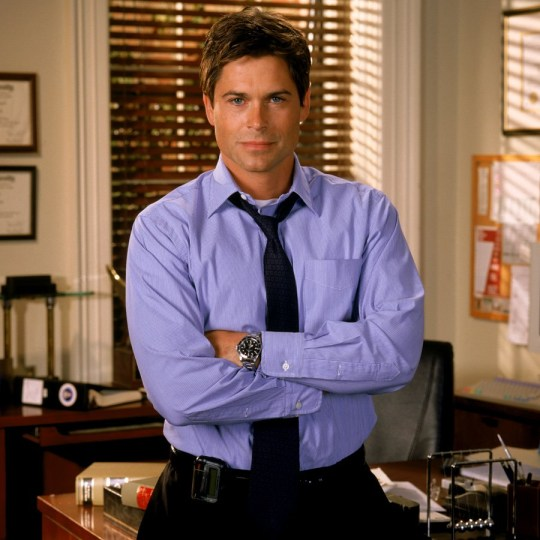 Rob Lowe says West Wing cast are all up for reboot Rob Lowe In West Wing