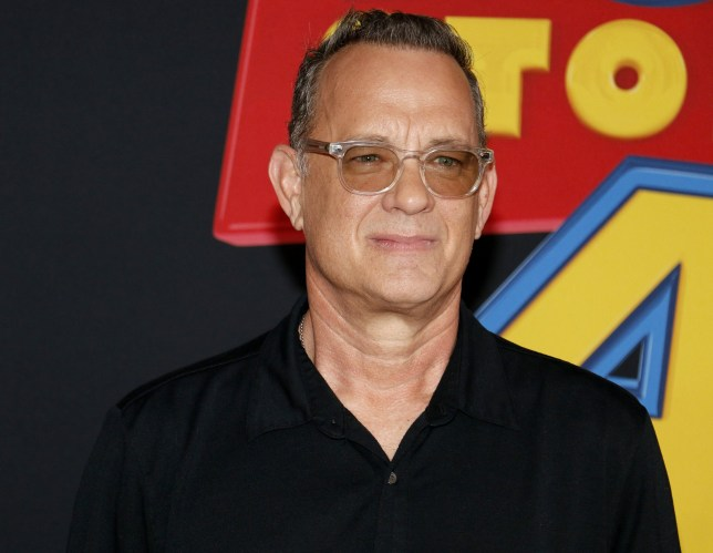 tom hanks at the world premier of Toy Story 4
