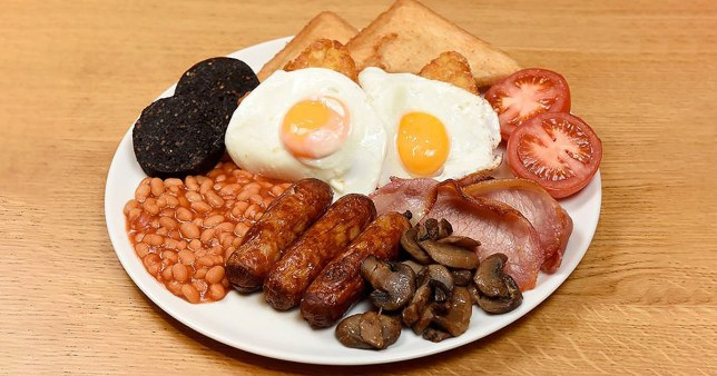 The Morrisons Big Daddy Breakfast
