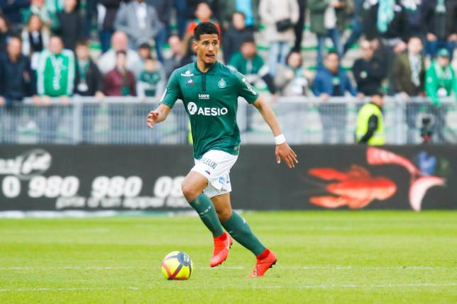 Both Arsenal and Spurs are tracking Saint-Etienne defender William Saliba