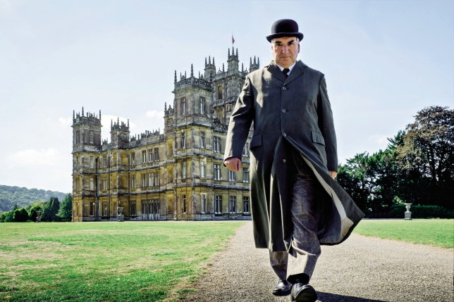 jim butler as charles carson from downton abbey