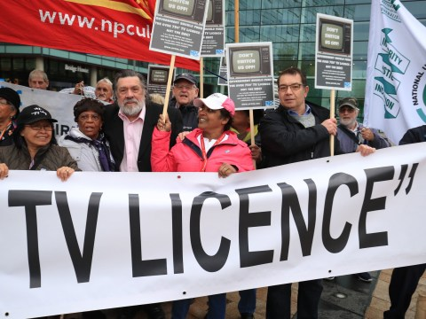 Struggling pensioners need to prove they're exempt from TV licence fee