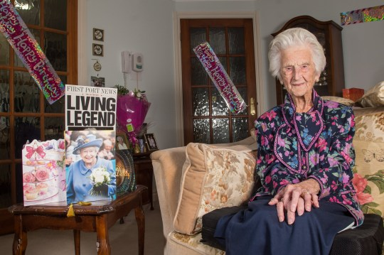 FILE PICTURE - Grace Jones who is celebrating her 112th birthday, Broadway, Worcestershire, 16.9.2018. Grace Jones, the oldest person in the UK, has sadly died at the age of 112. See SWNS story SWMDgrace. Grace Jones, known to her friends as Amazing Grace, died peacefully in her sleep at her home in Pegasus Court, Broadway, on Friday, June 7, her family have announced. Mrs Jones, who was born on September 16, 1906, lived to see five monarchs and 21 prime ministers, surviving two world wars. Mrs Jones took the title of the oldest UK person last summer after the previous oldest person, Olive Boar's death.
