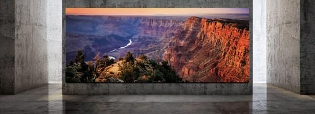 Samsung?s The Wall Luxury is a 292-inch 8K modular TV Samsung