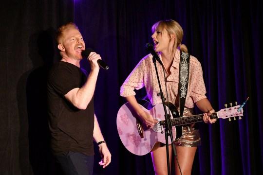 Jesse Tyler Ferguson and Taylor Swift
