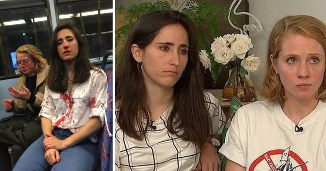 Lesbian couple attacked on the bus speak out