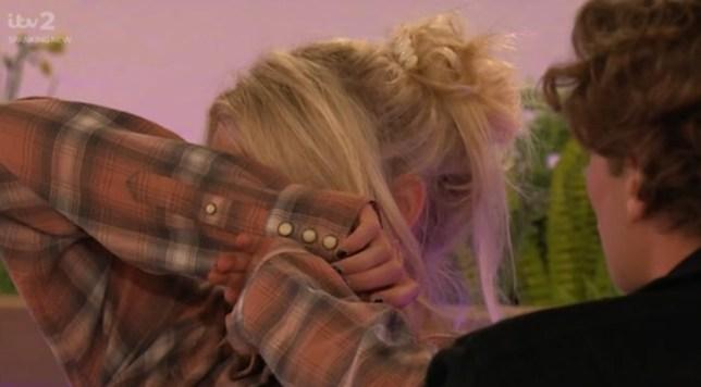 Love Island Lucie donlan cries