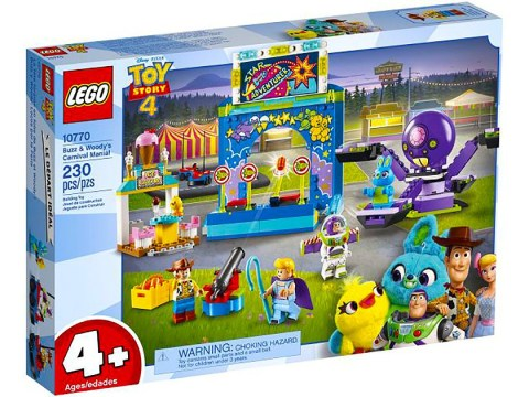 Lego makes special Toy Story 4 sets for kids as young as four