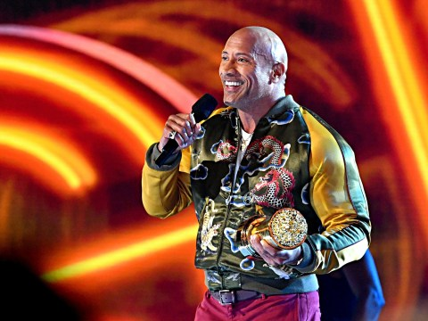 The Rock delivers inspiring MTV Movie and TV Awards speech calling on fans 'not to conform'