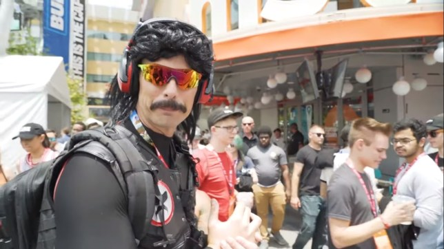Dr Disrespect is back on Twitch now after two week ban