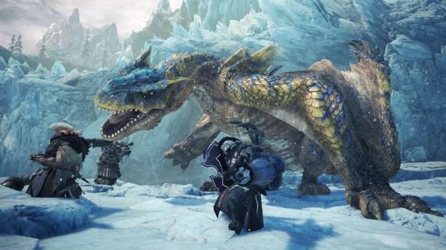 Monster Hunter: World - Iceborne - the Tigrex is not an easy mark