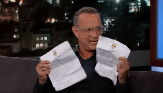 Tom hanks jimmel kimmel