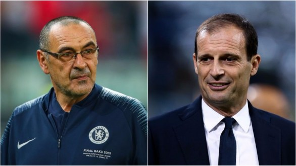 Chelsea are reluctant to replace Maurizio Sarri with Max Allegri