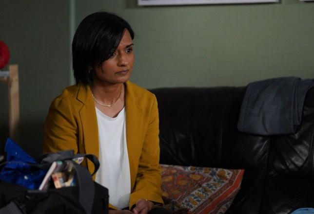 Bindya Solanki as Nita Mistry in EastEnders