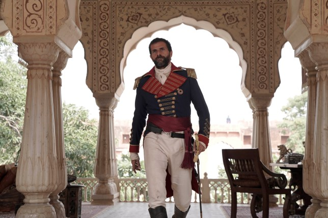Gregory Fitoussi as General Castillion in Beecham House