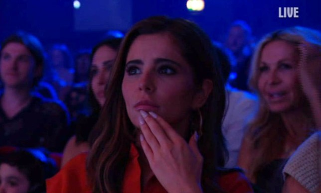 Cheryl spotted on Britain;s Got Talent