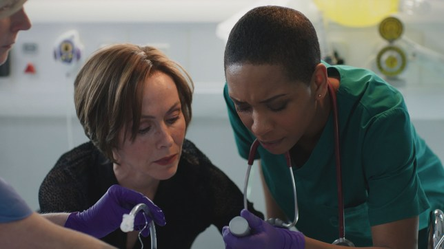 Connie makes a mistake in Casualty