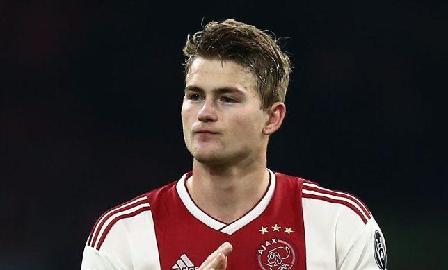 Manchester United target Matthijs De Ligt looks set for a move to PSG