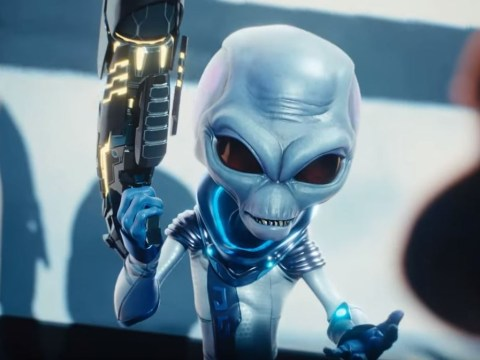 Destroy All Humans remake trailer brings in a heavy metal alien invasion