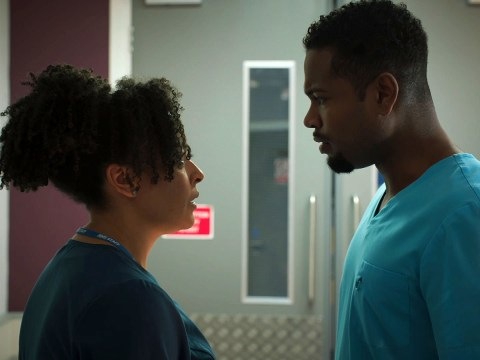 7 Holby City spoilers: Relationship trouble for Zav and Donna, and Cameron crumbles