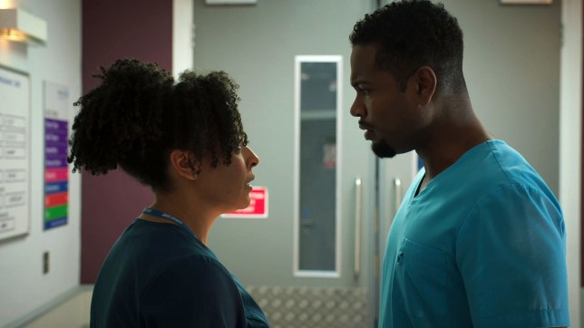 Zav and Donna face relationship troubles in Holby City