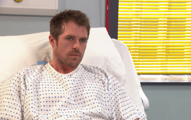 Hollyoaks' Laurie in hospital