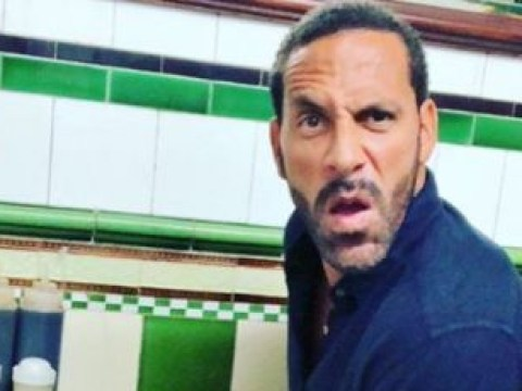 Rio Ferdinand goes crazy with cheeky pie and mash while Kate Wright enjoys hen do in Greece