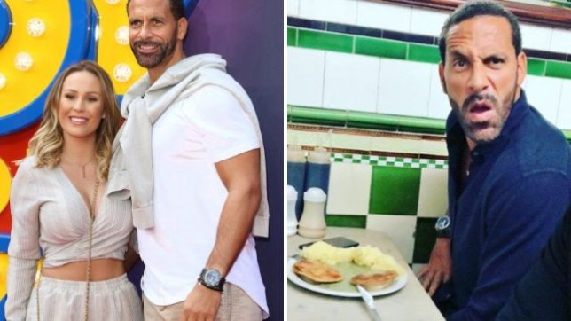 Rio Ferdinand goes crazy at pie and mash spot while Kate Wright enjoys hen do in Greece