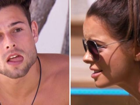 Love Island's Maura Higgins unleashes hell on 'coward' Tom Walker as she discovers he's called her 'cringey'
