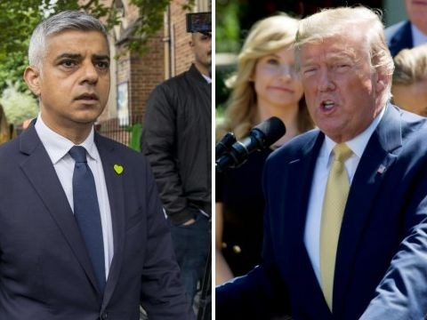 Donald Trump attacks London mayor Sadiq Khan again after weekend of violence