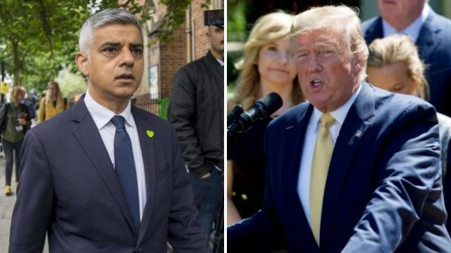Donald Trump attacked Sadiq Khan again on Twitter
