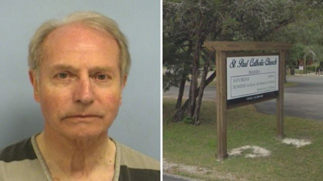 Catholic priest Gerold Langsch struck a plea deal which saw him sentenced to 300 days probation for groping a dying woman while giving her the last rites