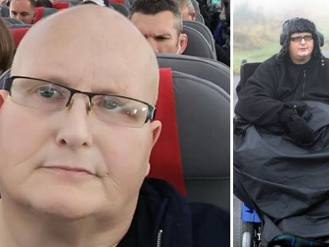Britain's former fattest man flies home from US in economy seat for NHS treatment