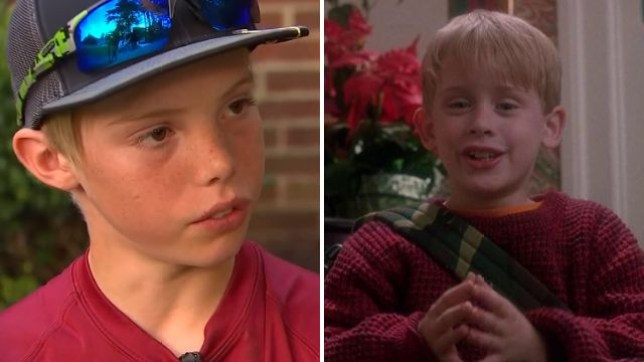 Real Life Kevin Mccallister 11 Hit Intruder With Machete