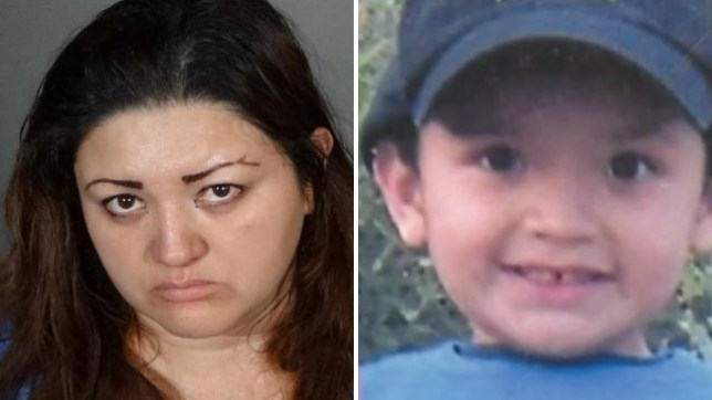 Veronica Aguilar reportedly told her family she'd sent son Yonatan, 10, away to Mexico, then secretly starved him in the closet of their LA home for three years