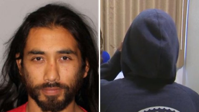 Francisco Carranza-Ramirez reportedly attacked a wheelchair-bound woman he raped last year (pictured right) just two days after being released from jail for that offense