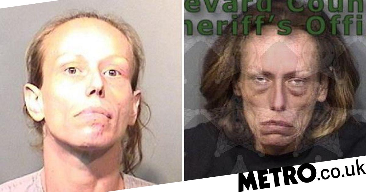 Mugshots show the shocking effects of drugs over time