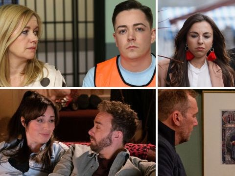 12 soap spoiler pictures: Emmerdale shooting, EastEnders brutal attack, Coronation Street discovery, Hollyoaks return