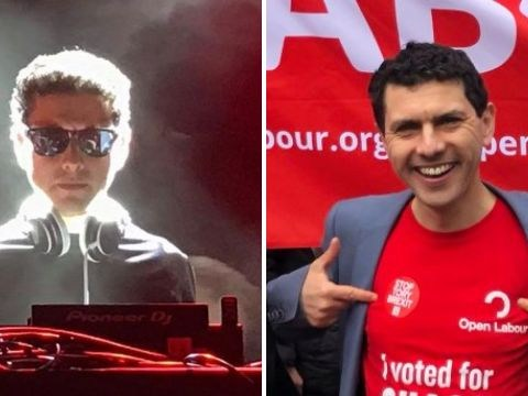MP transforms into DJ for rave in student union