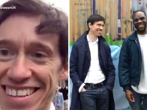 Tory leader hopeful has very awkward exchange in east London