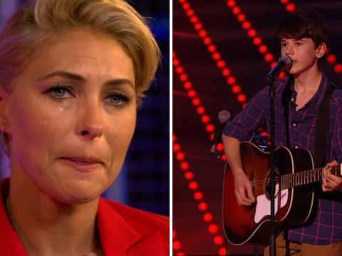 The Voice Kids' Emma Willis left in tears over contestant's moving song following heartbreaking story