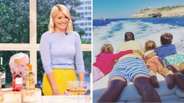 Holly Willoughby leads Father's Day tributes with message to husband Dan Baldwin