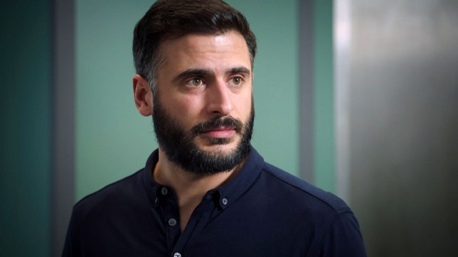 Isaac attacks in Holby City